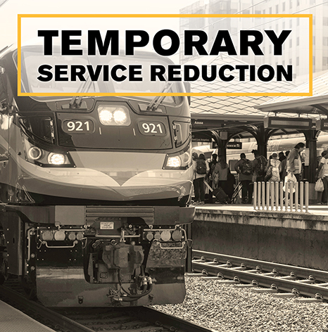 Temporary service reduction