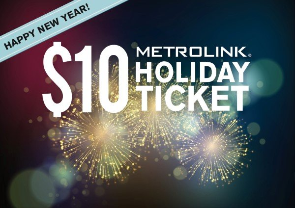 New Year S Day 2020 Limited Service Schedule Metrolink