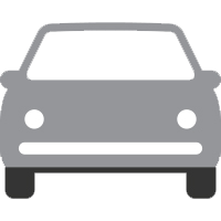 car icon, represents vehicle miles traveled that have been avoided
