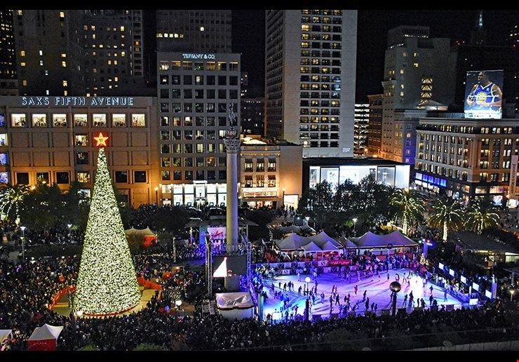 Holiday Ice Rink - Pershing Square