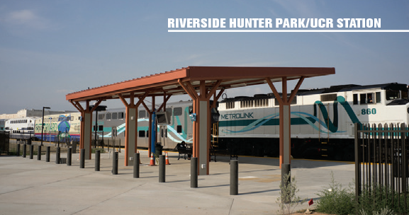 Riverside Hunter Park / UCR Station