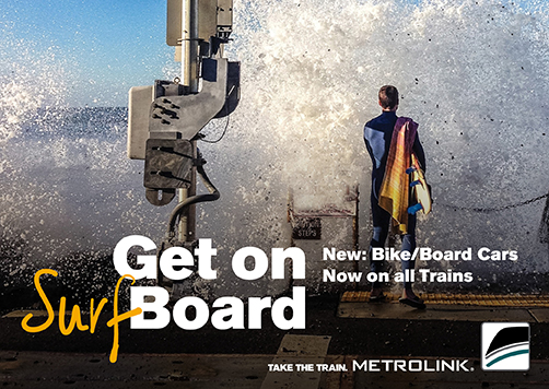 New: Bike/Board Cars Now on all Trains