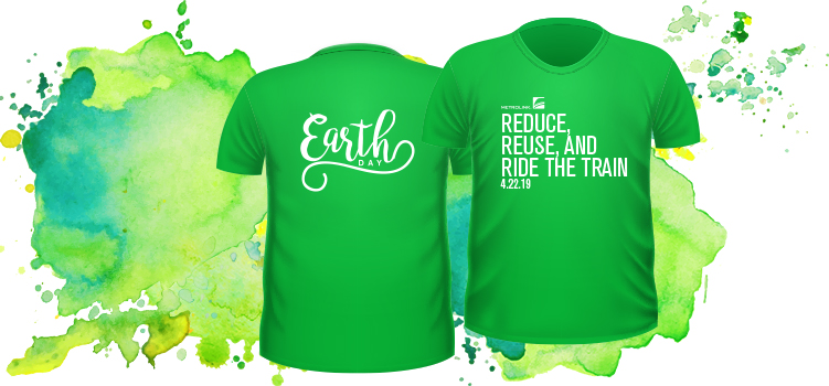 638359218 Purchase the exclusive Metrolink Earth Day T-Shirt today here!