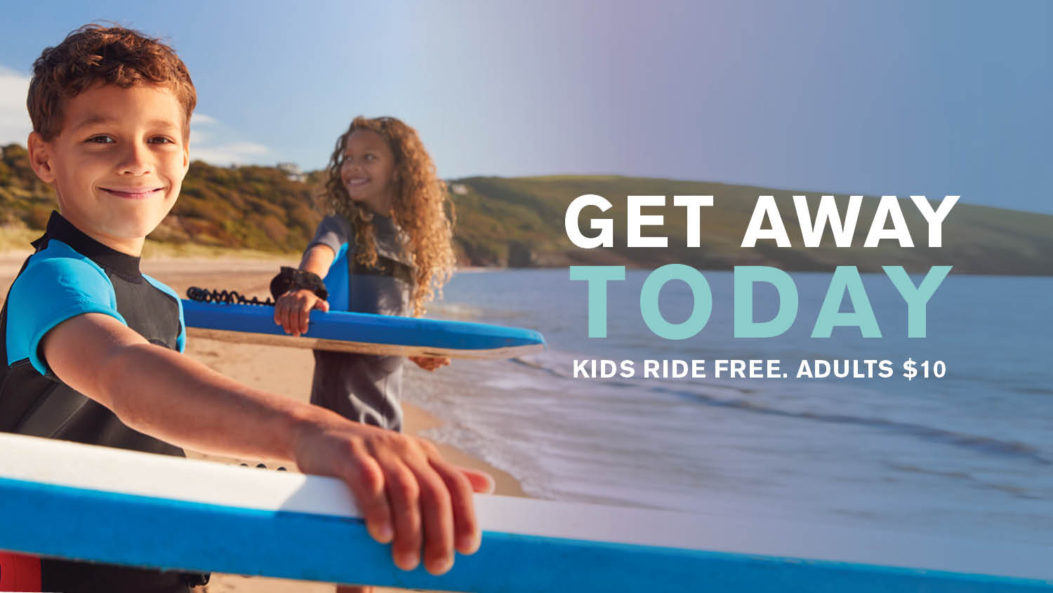 Kids Ride Free on Weekends